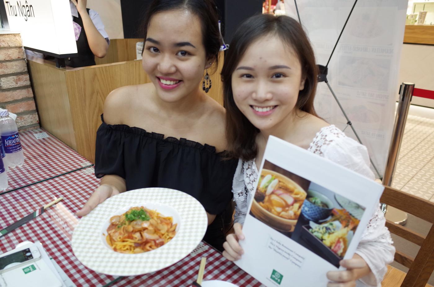 Tổ chức Sự kiện nếm thử món ăn cho Nhà hàng Pasta tươi JINJIN tại Takashimaya Sài Gòn