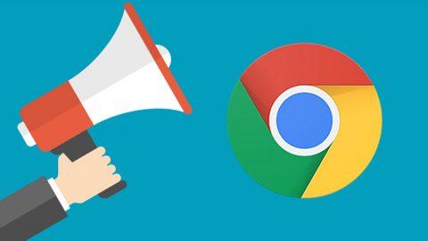 Chromeの固定タブに通知が表示されるようになった