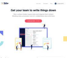 チーム内で画像や文書を共有できるクラウドサービスSliteを使って見た
