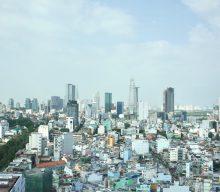 サイゴン1区方向の写真をビルから撮影