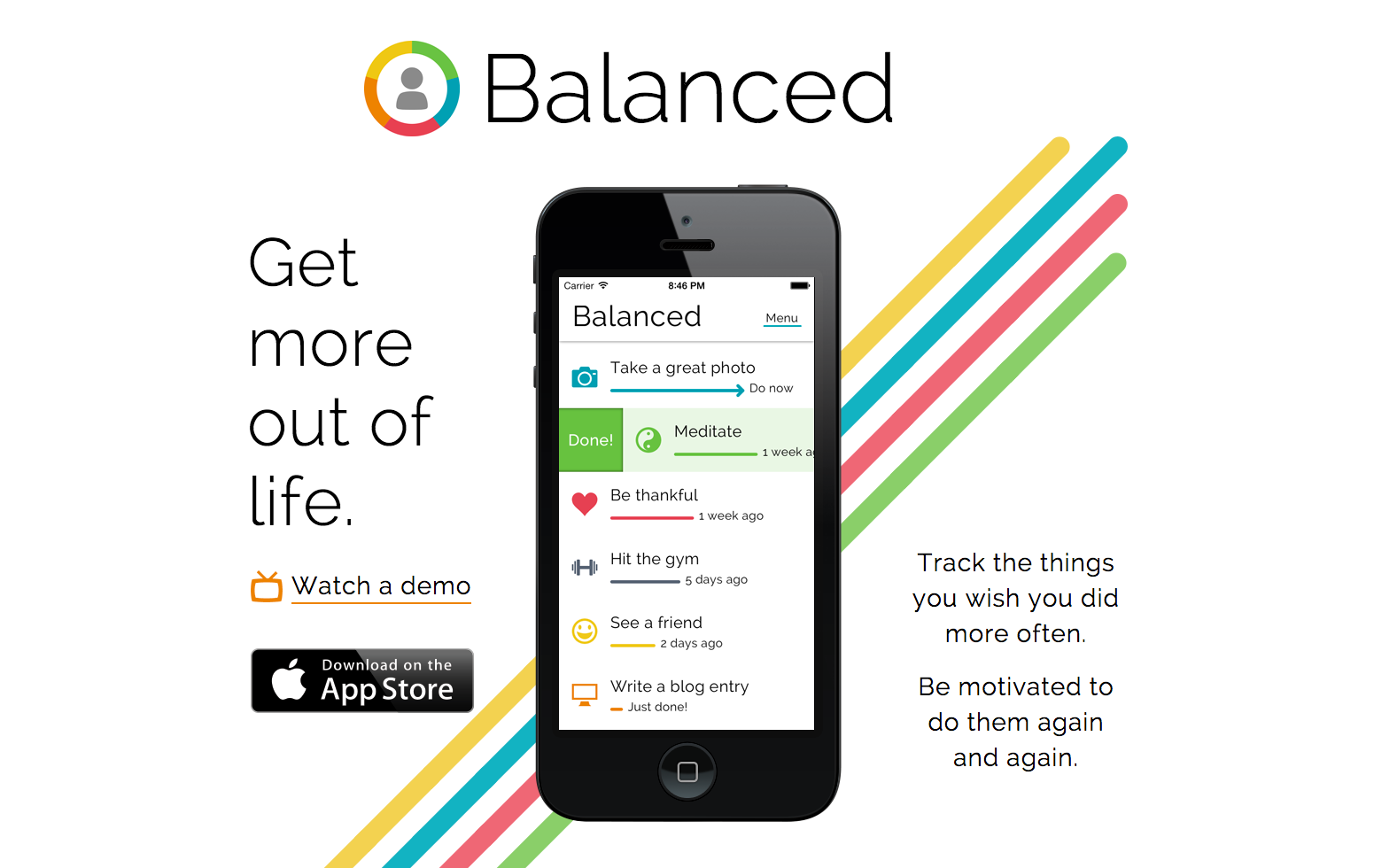 習慣化促進アプリならbalancedが良い 絶妙な時間にリマインドしてくれる