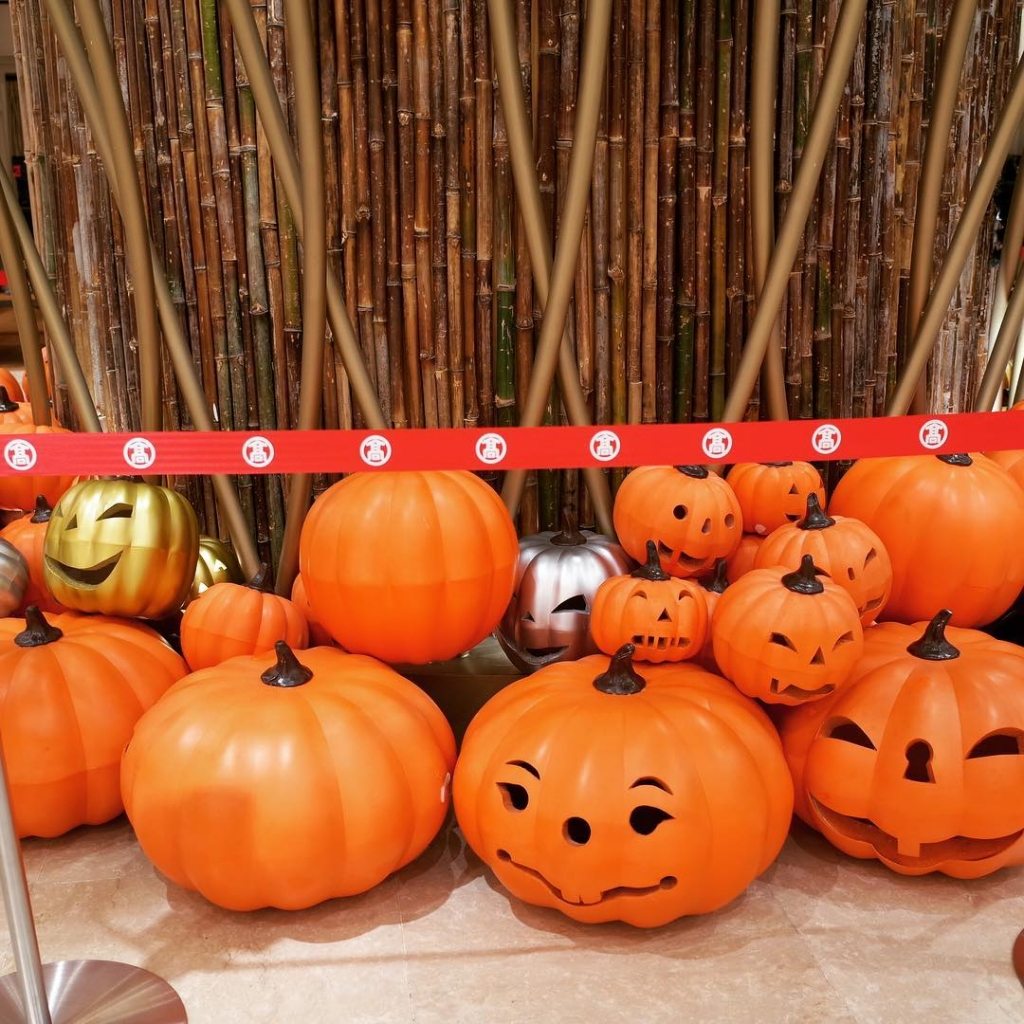 The season is coming #takashimaya #saigon #halloween