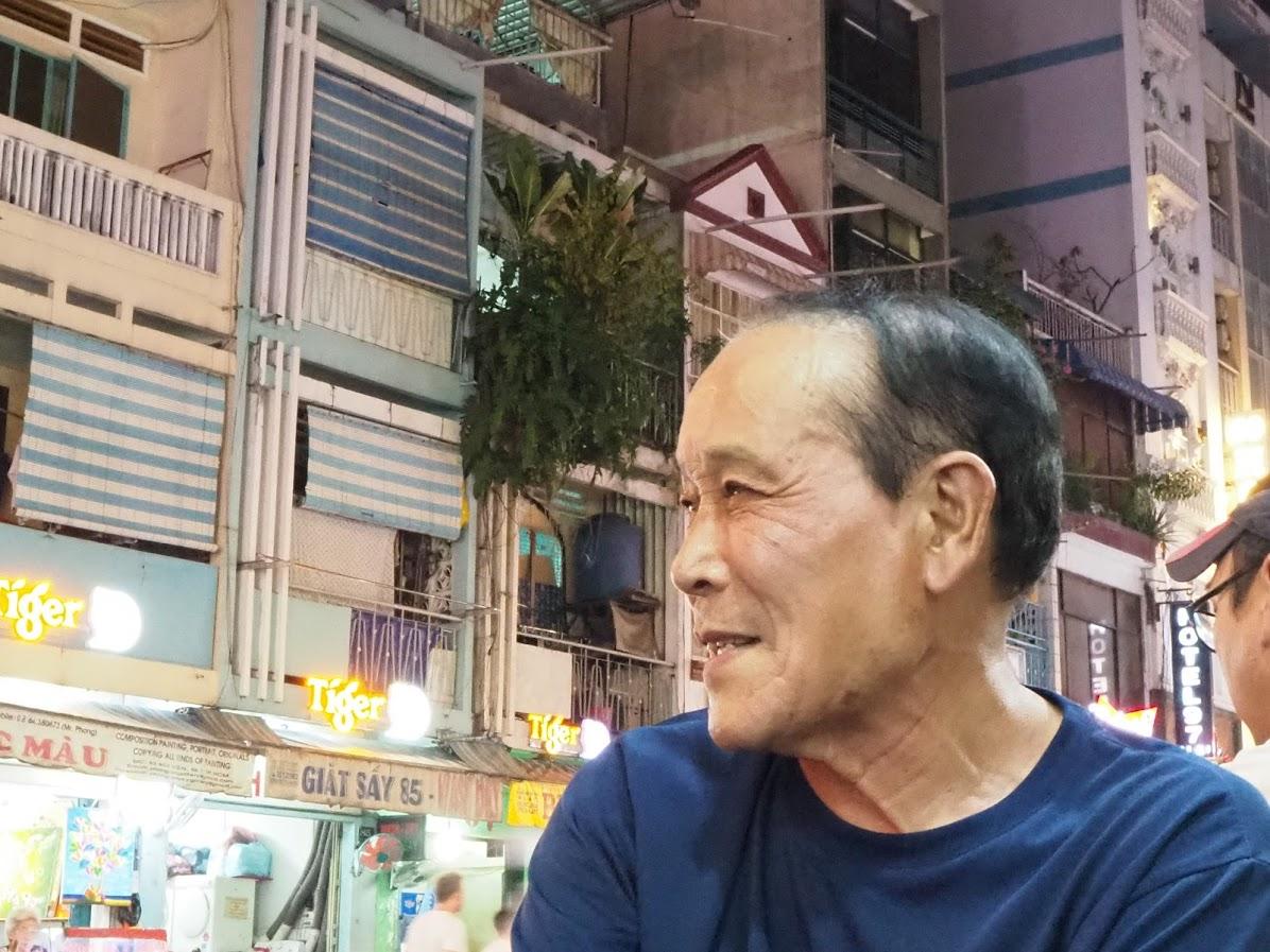 2019年11月29日 100 Bui Vienでお会いしたのが最後となってしまった